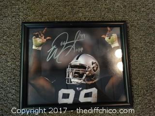 #99 Signed Raiders Picture