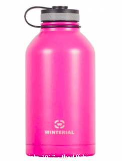WINTERIAL INSULATED 64OZ GROWLER BOTTLE - PINK (#68)