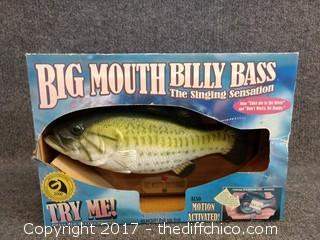 Big Mouth Billy Bass - NEW IN BOX