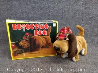 Detective Dog - Vintage - NEW - With Original Box