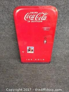 "Metal Coca-Cola Sign - With Magnet - 11.25"" x 20.25"""