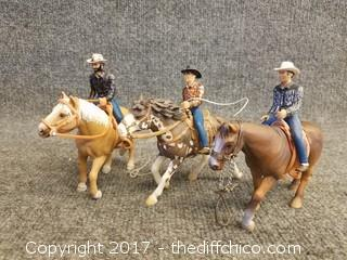 Schleich Horses and Cowboys - 2001, 2005, 2008