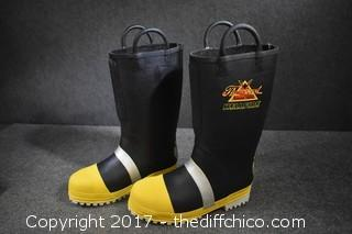 Fire Boots - Size 9-1/2