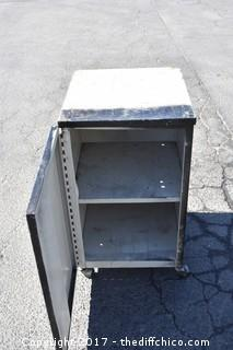 Rolling Metal Cabinet