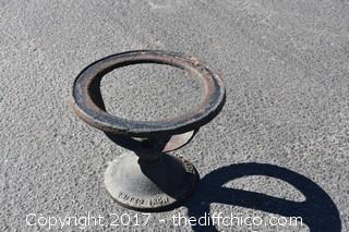 Cast Iron Stand-United Iron Works Oakland, CA