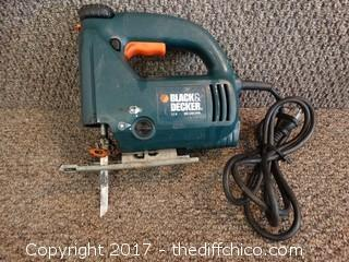 Black and Decker Jig Saw (Works)