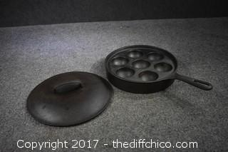 Griswold #962 Cast Iron Pan & Lid