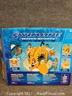 Swimline Water Sports Pirate Castle