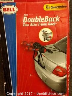 Bell Double Back Two Bike Truck Rack