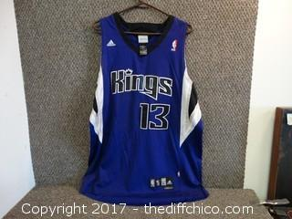 Kings Jersey #13 Size X Large