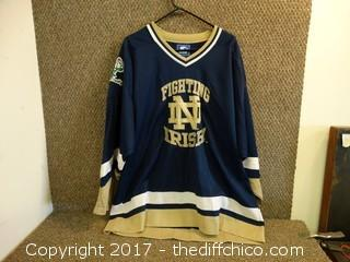 Fighting Irish Jersey Size XX L