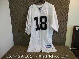 Raiders Jersey Size 50