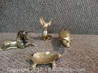 Brass Animals