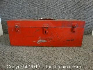 Snap On Tool Box With Contents