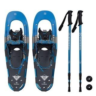 Winterial Snowshoe Set w/ Poles - Blue (#0019)