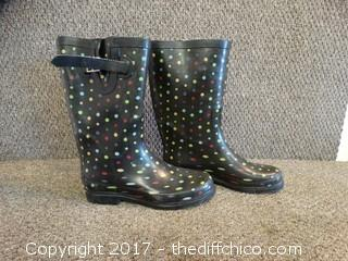 Rubber Boots Size 9