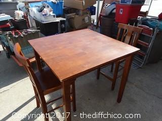 Table With 2 Chairs 39x39