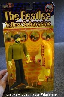"1999 Beatles Yellow Submarine ""George"" Collectible"