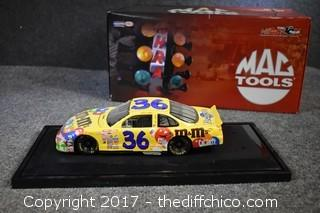 Nascar M&M's Collectible Car