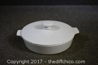 8 1/2in Centura Casserole Dish w/Lid by Corning Ware