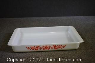Vintage Dove Friendship Pyrex Dish