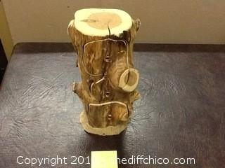 handmade wood 3 drawer jewelry box