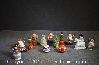 14 Christmas Trinket Boxes