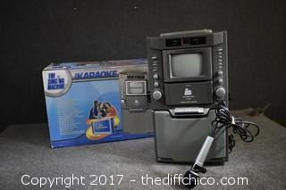 NIB Working Karaoke Machine