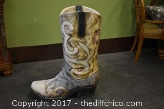 Cowgirl Boot Planter