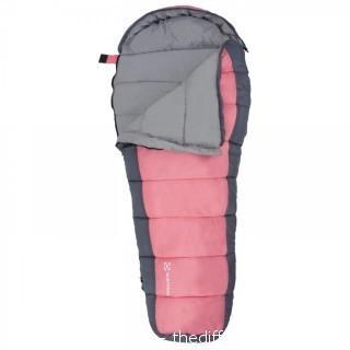 Winterial Kids Sleeping Bag, Youth Mummy Bag, Pink, Sleeping Bag Kids