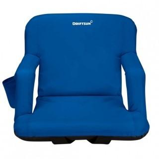 Driftsun Stadium Seat Reclining Bleacher Chair - X-Large - Blue (0025)