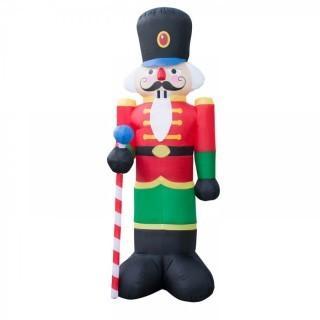Holidayana 8 Foot Tall Nutcracker Inflatable (0028)