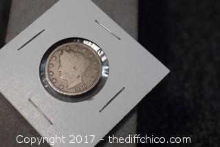 1910 V Nickel