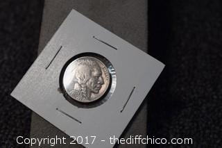 1937 Indian Head Nickel