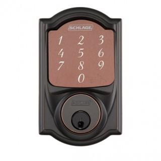 Schlage Camelot Touchscreen Deadbolt with Built-in Alarm