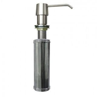 Stainless Steel Self Priming Top Filling Soap Dispenser