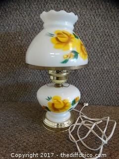 Yellow Rose Lamp Works