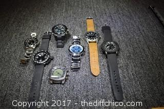 7 Watches Found at the Estate