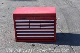 Homak 12 Drawer Tool Box