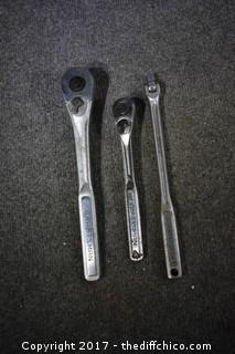 3 Craftsman Wrenches