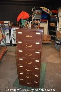 7 Drawer File Cabinet