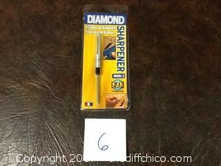 new diamond knife sharpener