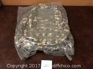 big military backpack