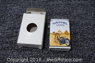 NIB Camel Cigarette Lighter