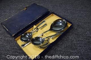 Chrome Plated Service Ware