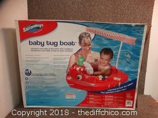 Baby Tug Boat NIB