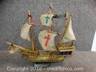 Santa Maria 1492 Ship