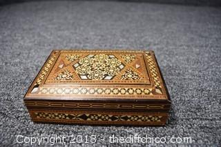 Hand Made Inlaid Box