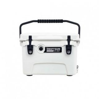 Driftsun 20-Quart Performance Ice Chest | Insulated Rotomolded Cooler 20 Quart - White (0011)