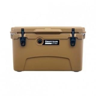 Driftsun 45-Quart Performance Ice Chest | Insulated Rotomolded Cooler - Tan (0013)